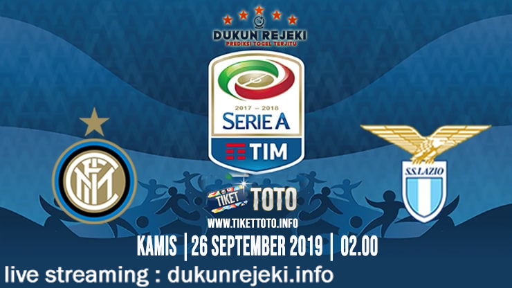 Prediksi Skor Pertandingan Inter Vs Lazio 26 September 2019
