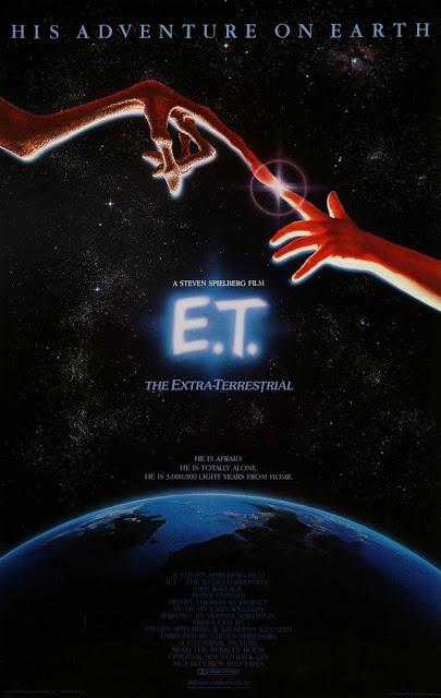 Póster original película ET el extraterrestre