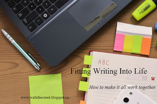 Fitting Writing Into Life