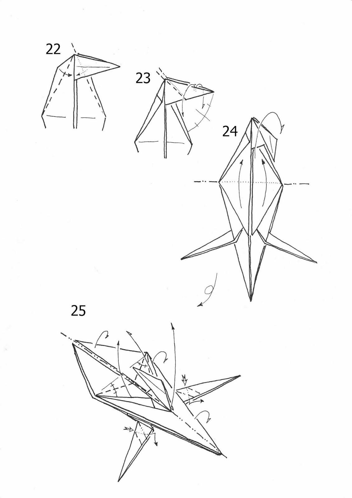 3d Horse Origami Diagram Paper Guide Halloween Folding