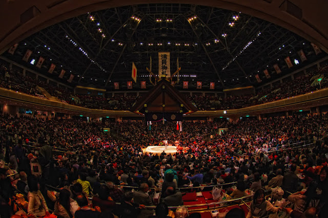 2019 May Grand Sumo Tournament, at Ryogoku Kokugikan, Tokyo