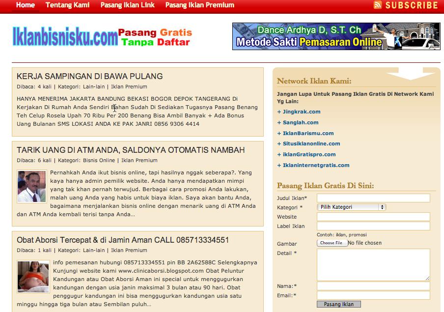 Daftar Situs Iklan Baris Gratis Property Asia Www Its Berry Com