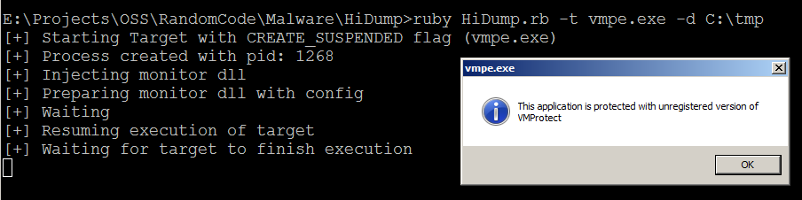 HiDump: Tracing and Extraction of Runtime Injected Code