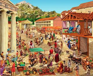 storia di Atene e delle poleis greche, riassunto per la scuola primaria