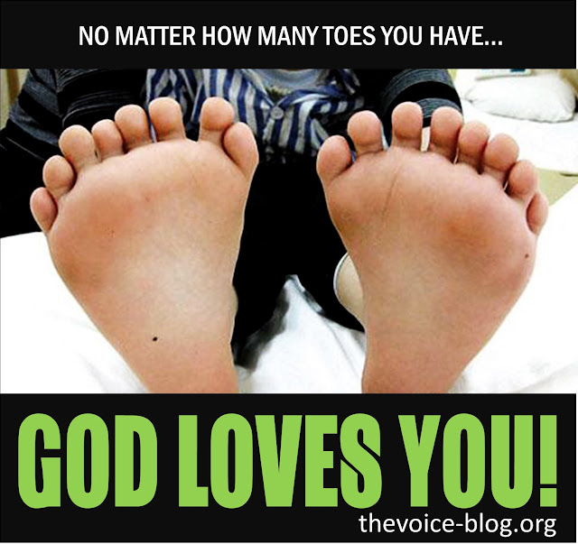No matter how many toes you have quote