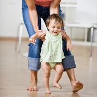 Helping Baby learn to walk using Shoulder Control