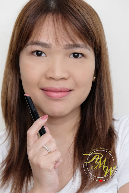 a photo of Kanebo Intense Crayon Rouge in Chic Pink review by Nikki Tiu of www.askmewhats.com