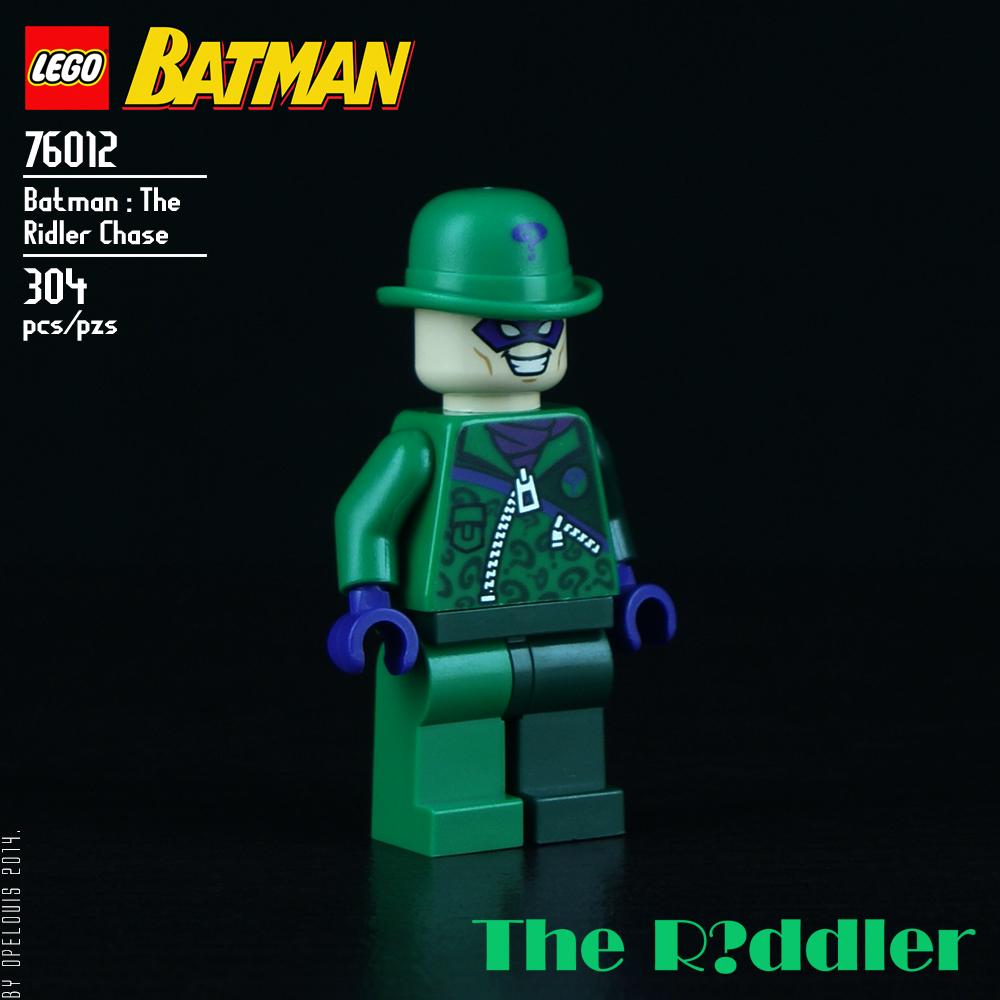 Lego Riddler Race Car