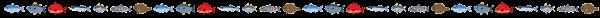 魚のライン素材
