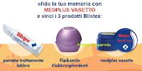 Logo Blistex: Gioca e vinci gratis kit MedPlus trattamenti labbra