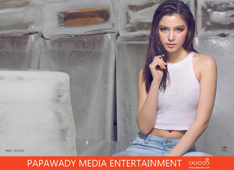 Stylish Fashion Model May Grace Perry Look So Hot In Icy Cold Room