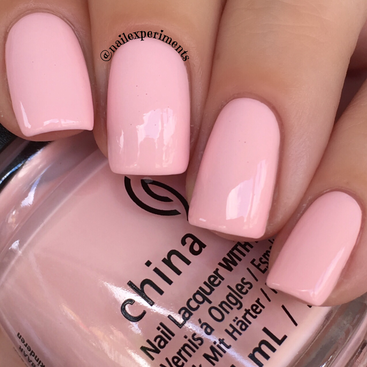 China glaze my sweet lady swatch