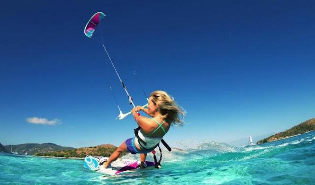 Su Sporları Dendiği Zaman Akla İlk Gelen Spor Dalları - Uçurtma Sörfü - Kurgu Gücü