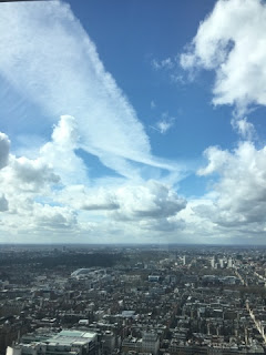 views from the BT Tower London