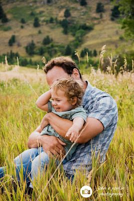 portrait photography of a father and son in boulder colorado