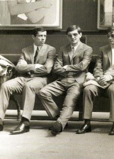 Con Janich e Juliano, Londra, 1966.