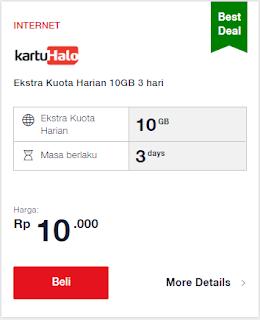 Paket Internet Best Deal Halo