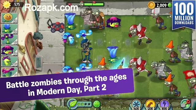 Plants vs. Zombies 2 Hack Apk