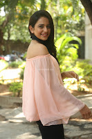 Rakul Preet Singh in lovely Pink Crop Top and Black Trousers at Jaya Janaki Nayaka success meet 035.JPG