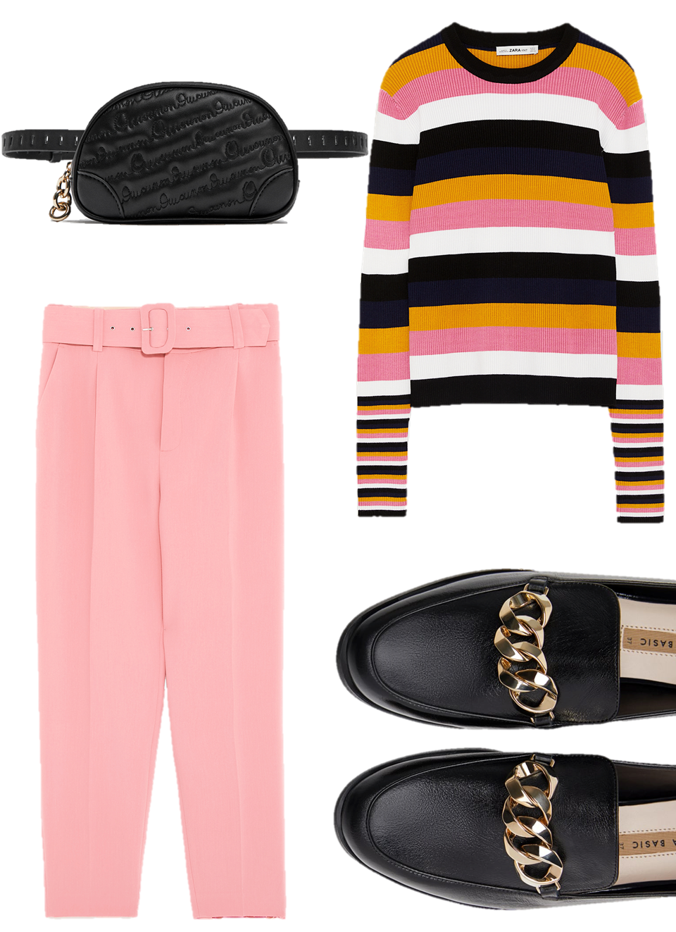 Primavera; outfit; spring outfit; outfit ideas; zara; pink; fashion;