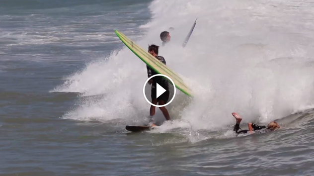 Andy Nieblas and Nick Melanson Descend into Summer Madness at Doheny SURFER Magazine Alternative