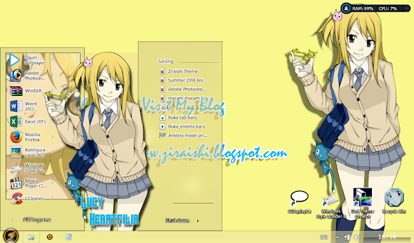 Lucy Heartfilia (Fairy Tail) Win8/8.1 2