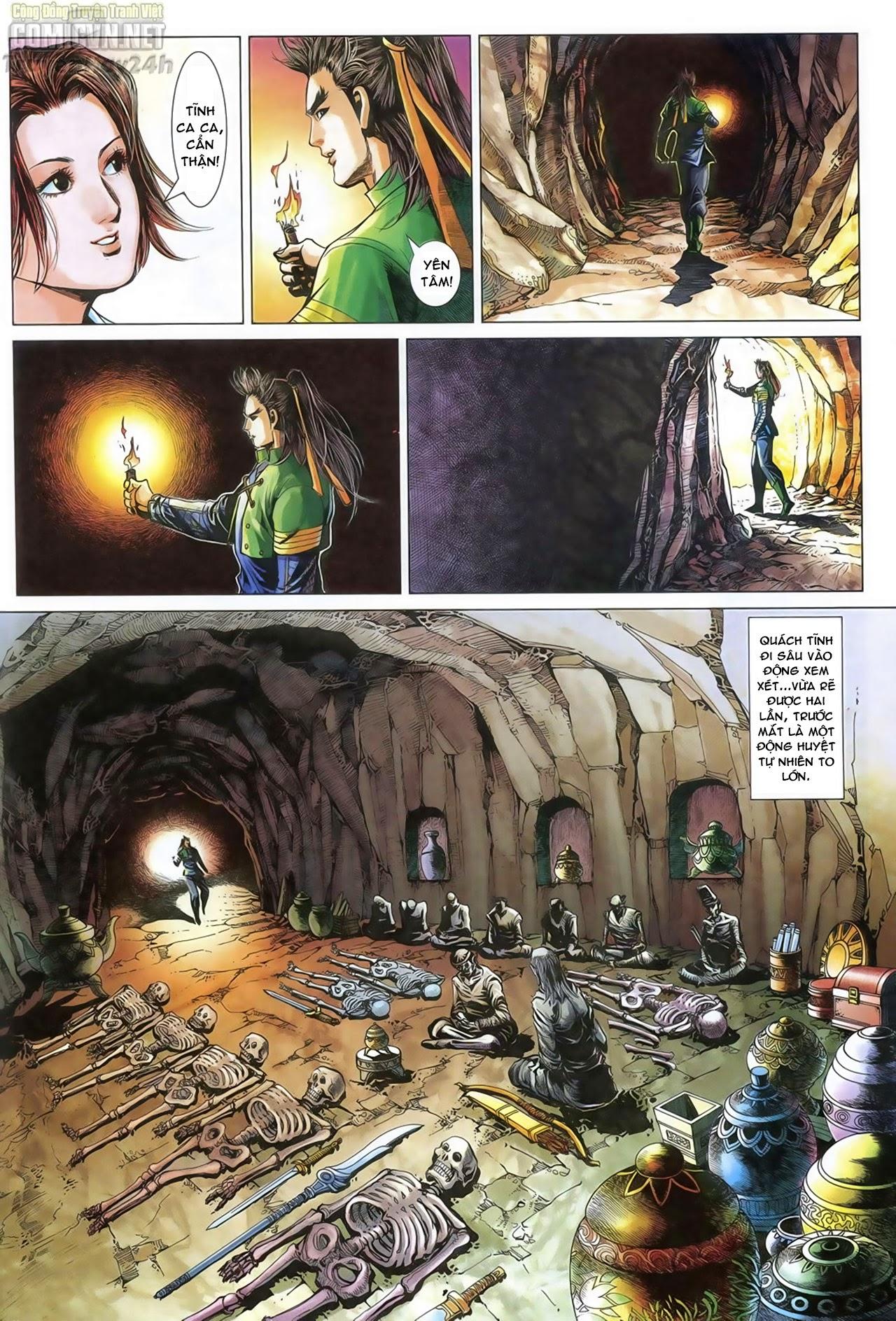 Anh Hùng Xạ Điêu anh hùng xạ đêu chap 69: hồn đoạn thiết chưởng phong trang 22