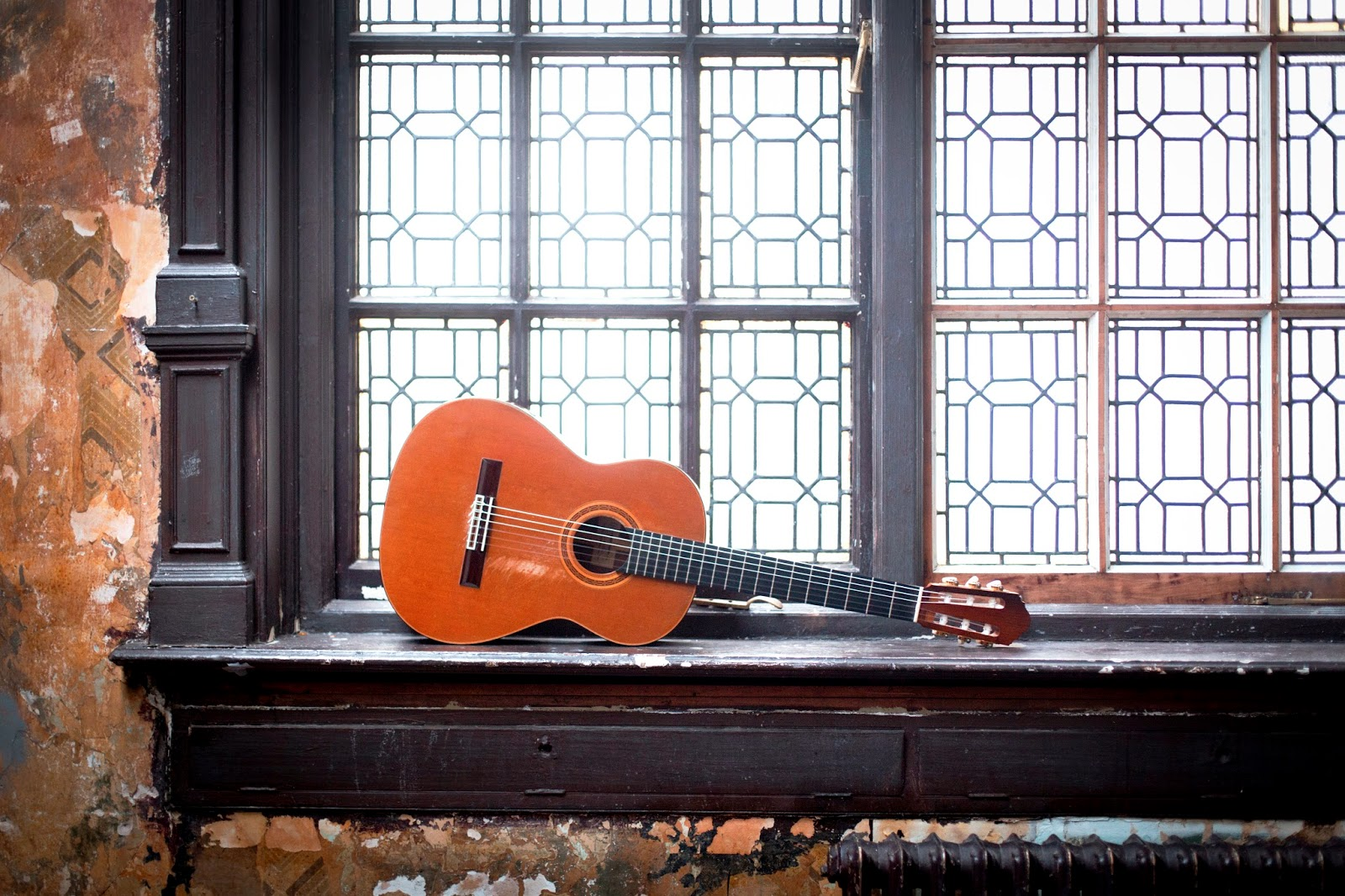 Christoph Denoth's guitar - photo credit: Benjamin Ealovega.