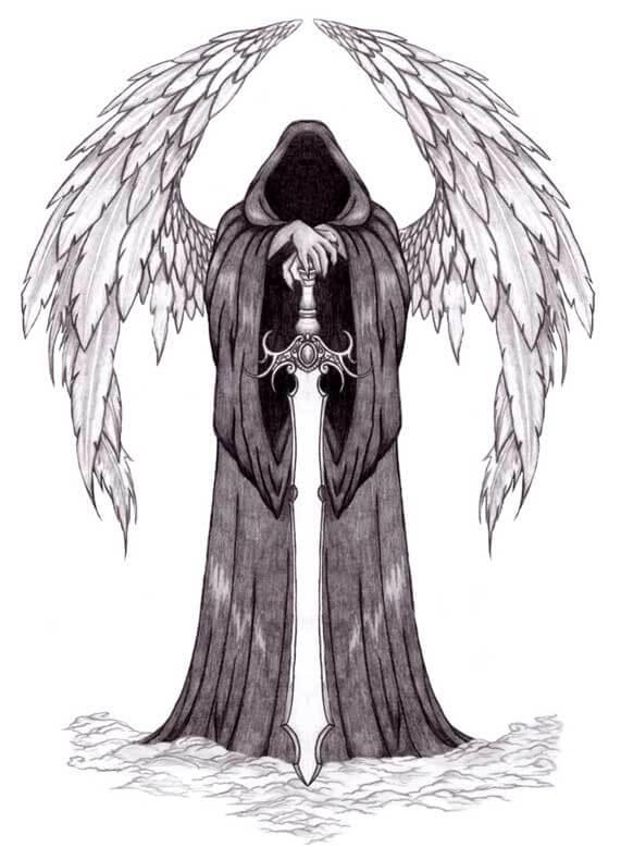 татуировка ангел смерти значение