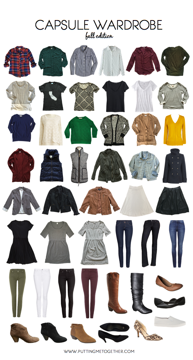 Capsule Wardrobe: Putting Me Together: Tool For Building A Personalized