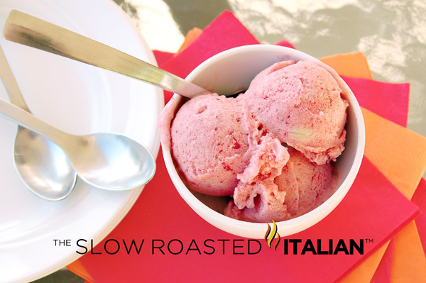http://theslowroasteditalian-printablerecipe.blogspot.com/2012/03/simple-strawberry-banana-ice-cream-in-5.html