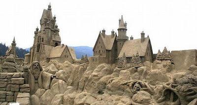 Escultura de arena palacio
