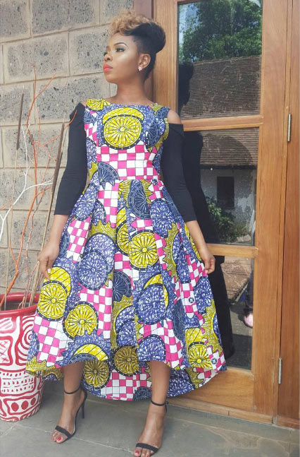 Check out Yemi Alade's Sunday outfit