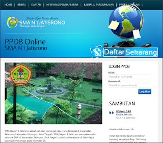 Download Aplikasi Penerimaan Siswa Baru (PSB) Online Berbasis Web Profil Sekolah