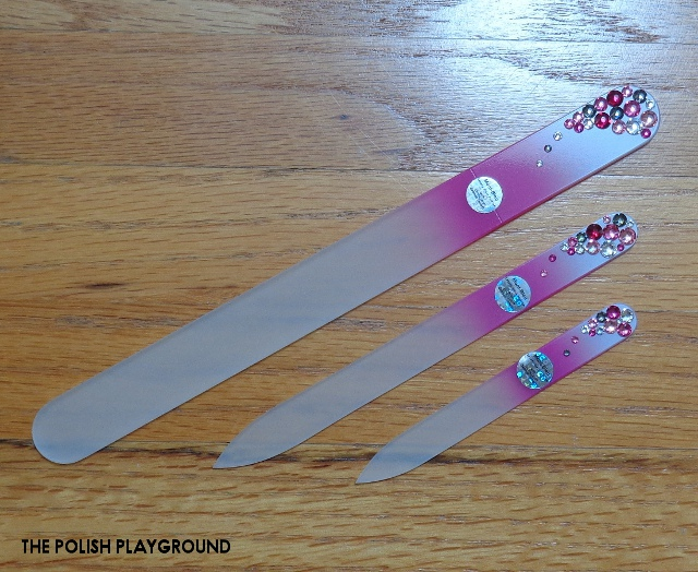 Mont Bleu Glass Nail Files and Nail Care Tools Review