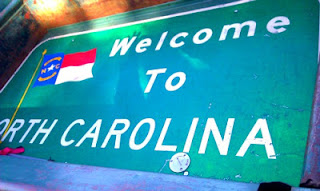Vintage North Carolina Sign