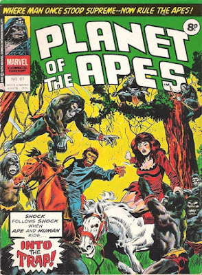 Marvel UK, Planet of the Apes #87