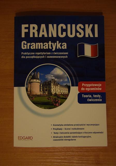 """Recenzje #9 - """"Francuski Gramatyka"""" - okładka książki pt. """"Francuski Gramatyka"""" - Francuski przy kawie"""