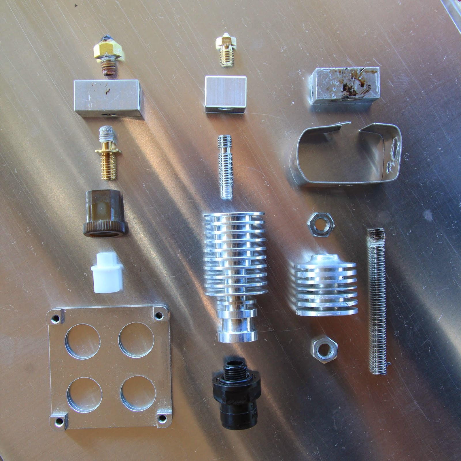 3D printer improvements: Thoughts and hints around hot ends