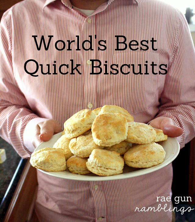 World's Best Quick Biscuit Recipe And What's For Dinner