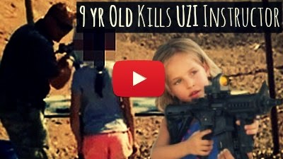 Watch how this 9 year old girl accidentally shot and killed her UZI instructor via geniushowto.blogspot.com Firearms shooting videos