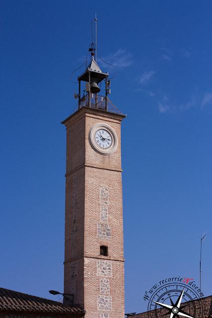torre del reloj, Consuegra