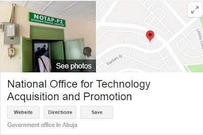 National Office for Technology Acquisition and Promotion Recruitment 2018/2019 | Application Portal