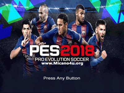 PES 6 Tampilan PES 2018
