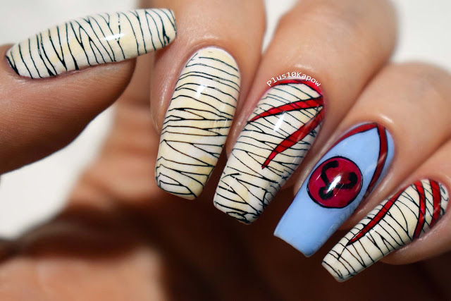 Mumm-Ra Thundercats 80's 90's cartoons nerdy nails