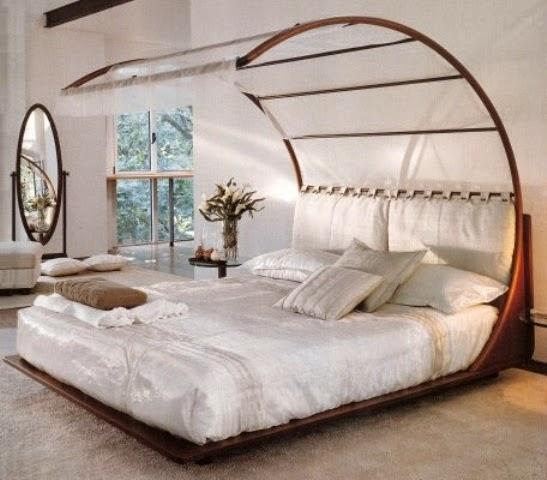 Fotos de camas originales dormitorios colores y estilos - Cabecero de cama original ...