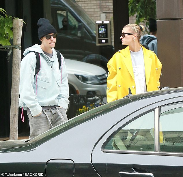 Hailey Baldwin spotted kissing Justin Bieber in New York