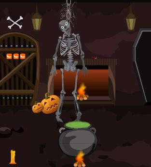 TollFreeGame Devil Halloween House Escape Walkthrough