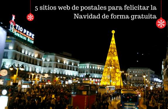 Navidad, postales, gratis, felicitar, web,