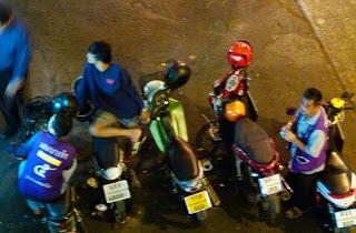 Bangkok Motorbike Taxi